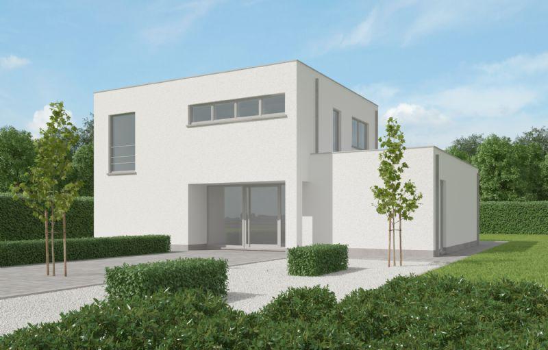 Nieuw te bouwen alleenstaande woning met vrije keuze van architectuur te Roeselare.