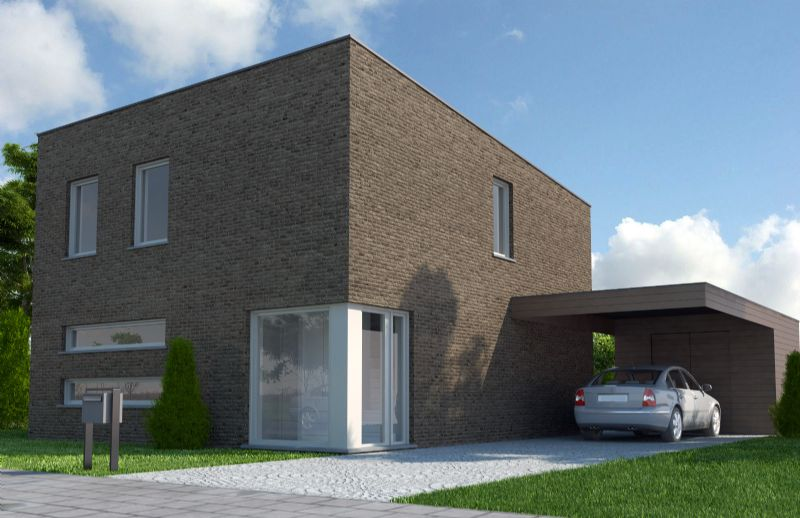 Moderne woning - Plat dak - MP1