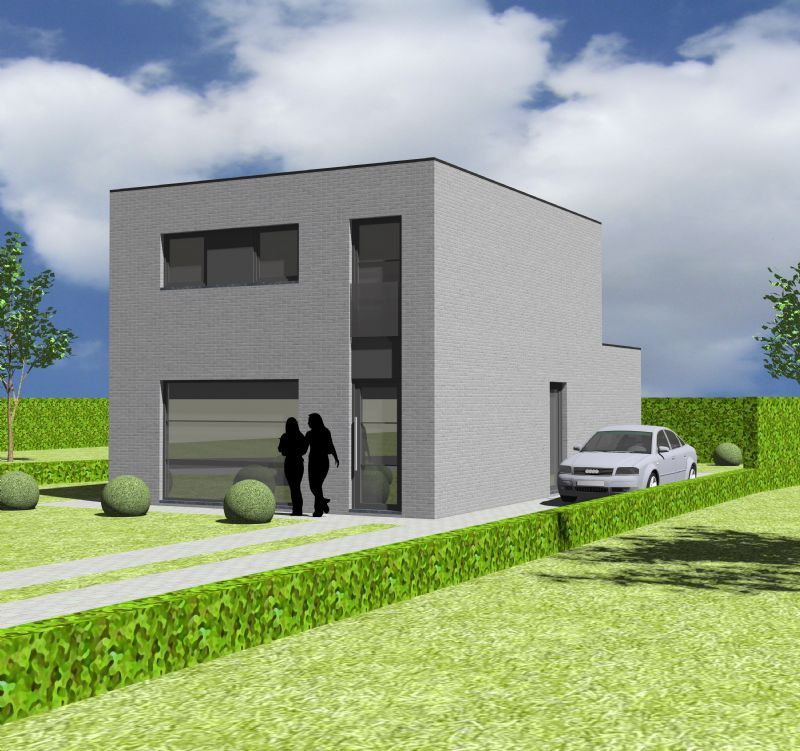 Moderne woning - Plat dak - MP12